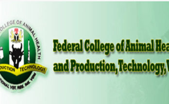 Federal College Of Animal Health And Production Technology VOM