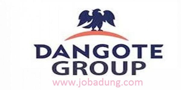 dangote engineering training recruitment