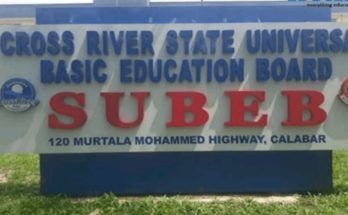 Cross River SUBEB Result