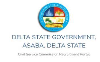 Delta State CSC Recruitment