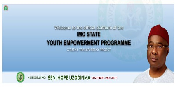Imo youth empowerment