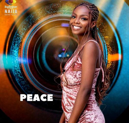 peace bbnaija season 6
