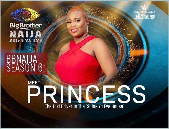 Princess BBNaija Season 6