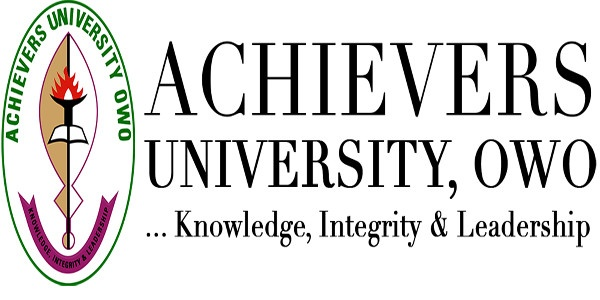 Achievers University Owo Recruitment