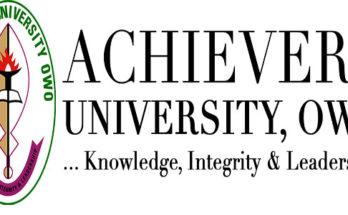 Achievers University School Fees